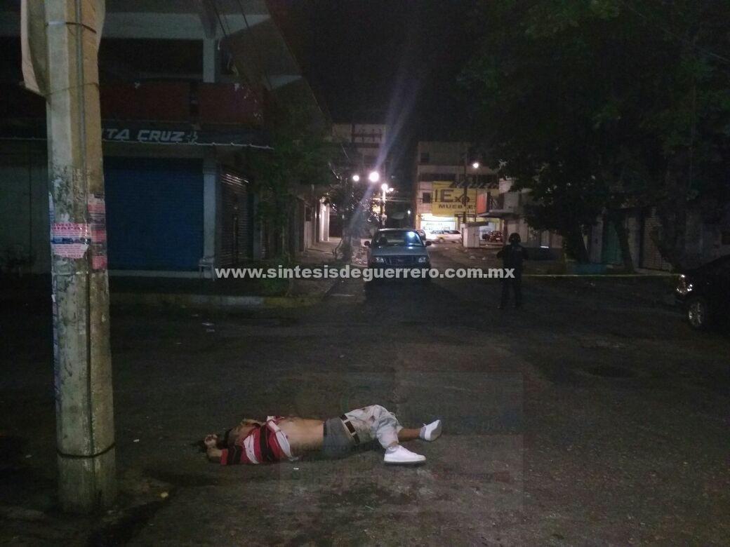 A golpes, asesinan a un hombre cerca del centro de Acapulco