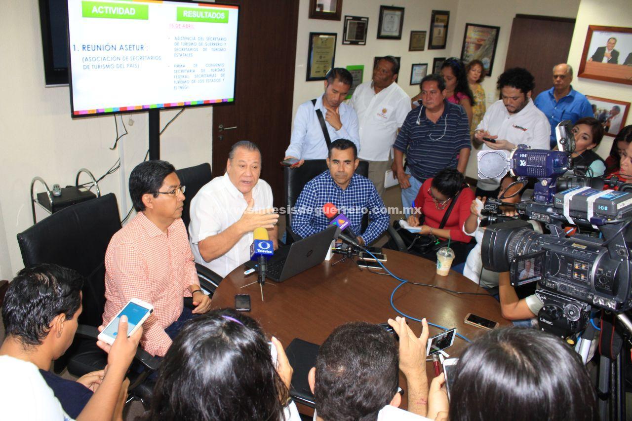 Informa Sectur Guerrero las acciones que se realizaron en el Tianguis Turístico Mazatlán 2018