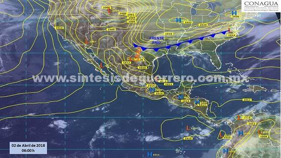 Continuarán las altas temperaturas en Guerrero: Protección Civil estatal