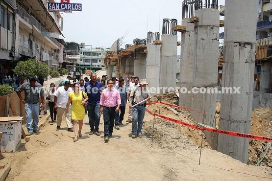 (Video) Supervisa Evodio obras municipales de alto impacto para Acapulco