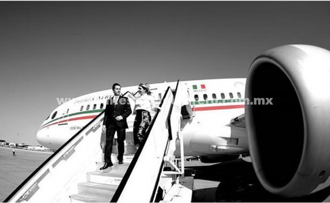 Avión presidencial, ni mío ni de AMLO, responde Peña Nieto en Instagram