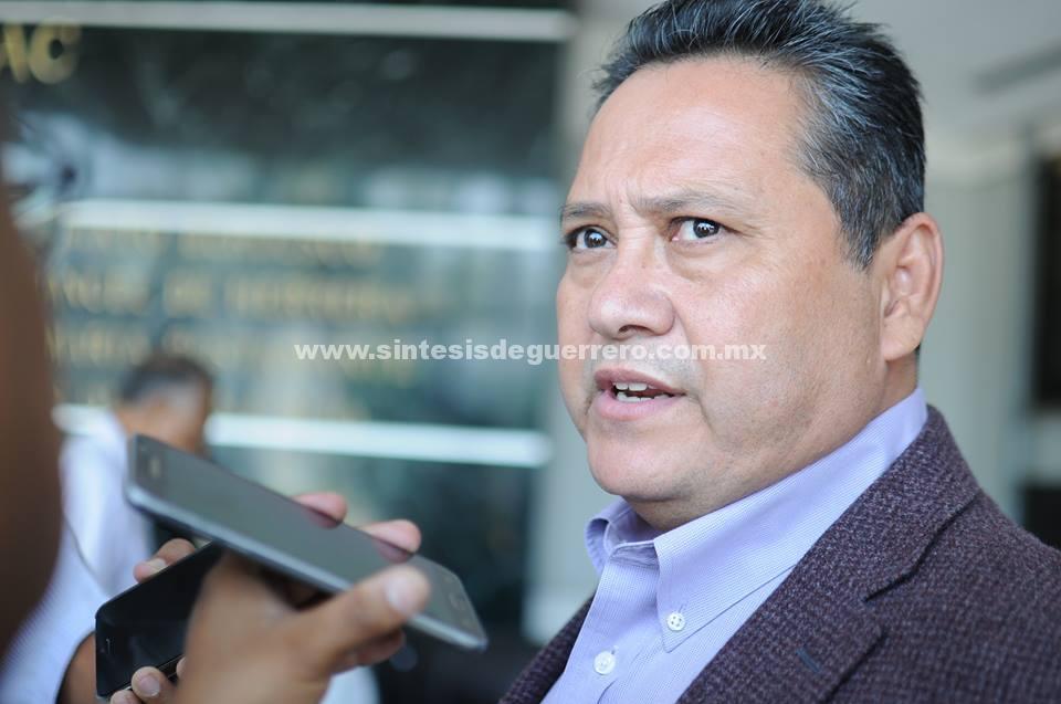 Héctor Vicario Castrejón, informó que en la sesión del próximo jueves se presentará al Pleno el dictamen sobre el caso: Marco Antonio Leyva Mena.