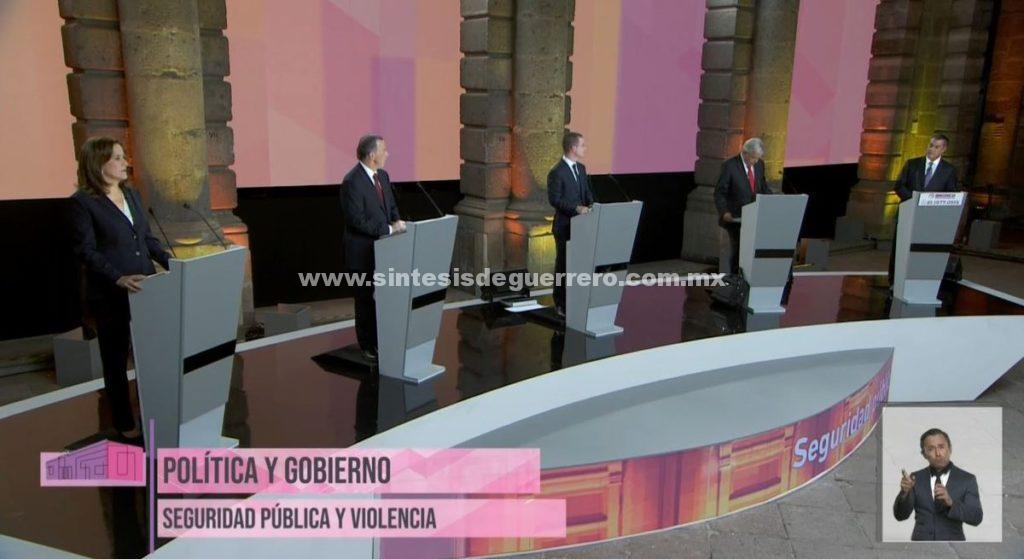 Ataques contra AMLO dominan primer debate presidencial
