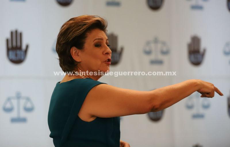 Nestora Salgado miente, no fue exonerada; existen procesos abiertos: Isabel Miranda
