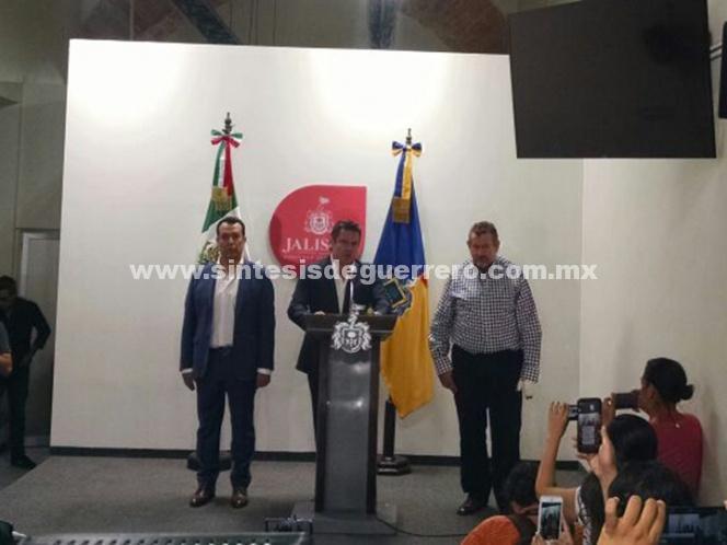 'No hay alerta máxima, ni código rojo': gobernador de Jalisco