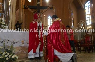Obispo fue retenido por policías comunitarios de Chilapa; revela