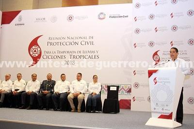 (Video) Recibe Acapulco la Reunión Nacional de Protección Civil