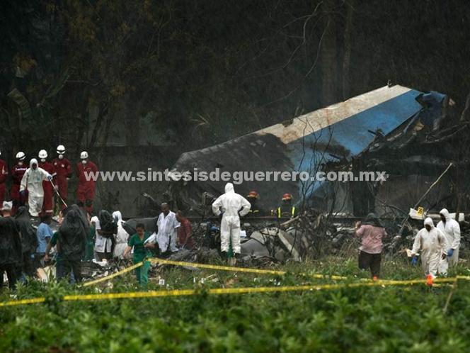 Fallece sobreviviente de accidente aéreo en Cuba