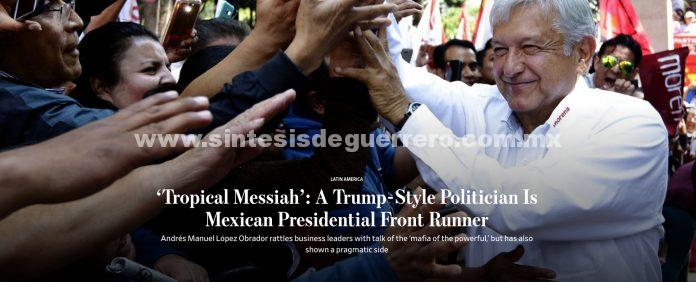 Wall Street Journal compara a AMLO con Trump