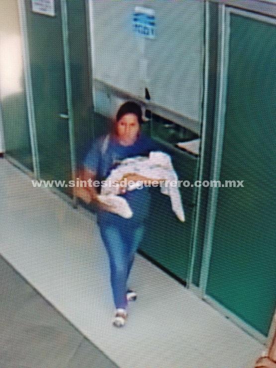 Esta persona sustrajo a un Recién Nacido de la Clinica del IMSS De la ZAPATA