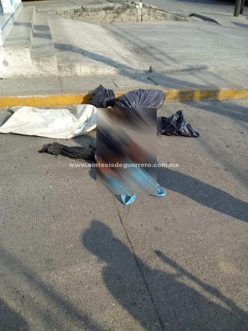 Dejan cuerpo desmembrado cerca de una escuela, en Acapulco