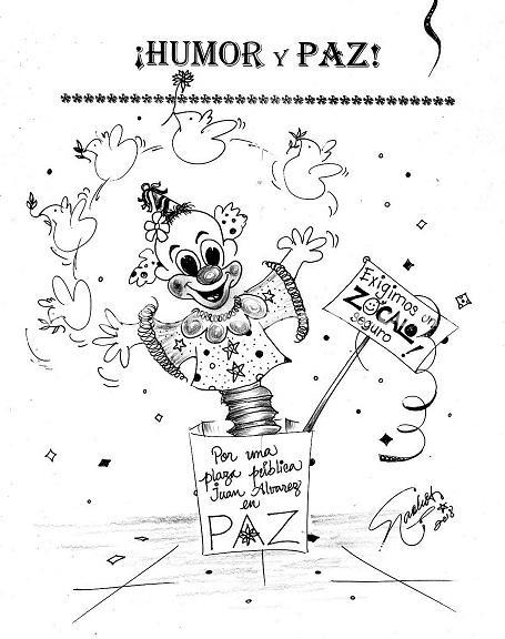El Cartón de Nacho's: Humor y Paz