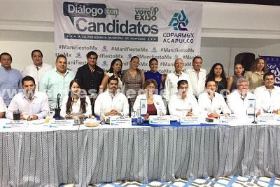 """""""No habrá mordidas en mi gobierno"""", afirma Adela Román ente Coparmex – Acapulco"""