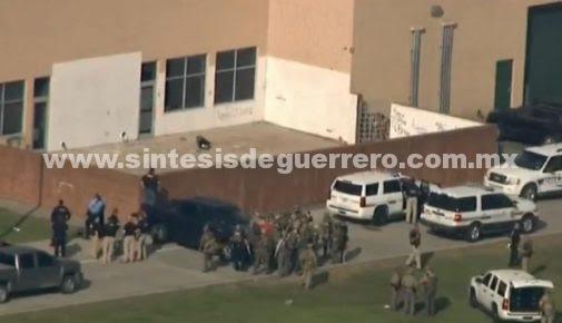 Tiroteo en escuela de Texas deja al menos diez muertos