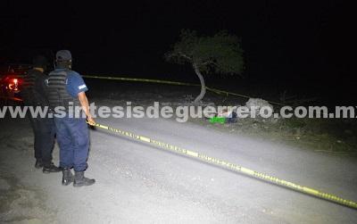 Localizan a un hombre ejecutado en las inmediaciones de Zumpango
