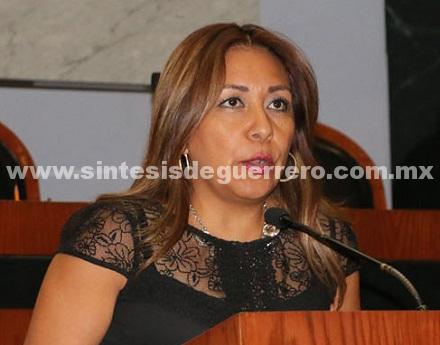 Propone la diputada María del Carmen Cabrera Lagunas reformar la Ley Orgánica del Municipio Libre del Estado