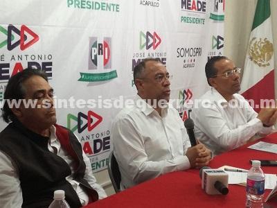 Jacko y Zambrano ponen en riesgo la elección en Acapulco: PRI-Guerrero