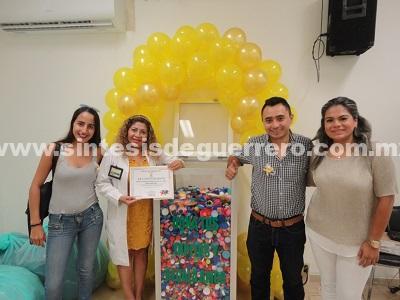 Recolecta IMSS en Acapulco tapitas de plástico para combatir cáncer en niños