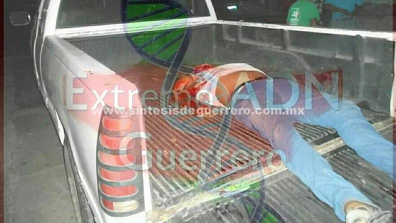 Asesinan a tiros a un hombre en Juchitan; Costa Chica