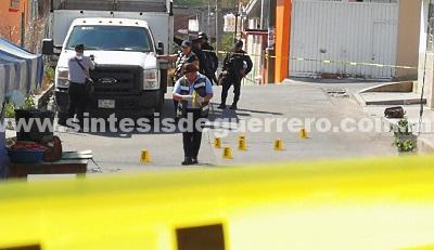 Balacera y persecución en Los Ángeles, Chilpancingo; dos heridos