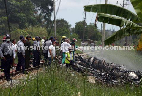 Identifican a 4 mexicanos víctimas de avionazo en Cuba