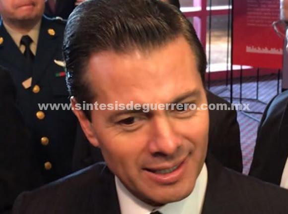 Peña Nieto: 'Nadie negocia conmigo, yo soy el presidente'