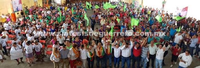 Transportistas de todos los municipios de la Costa Chica se suman a la campaña de Manuel Añorve