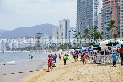 Hieren a balazos a un hombre en Acapulco