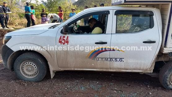 Ejecutan a transportista de la ruta Tlapa-Coachimalco