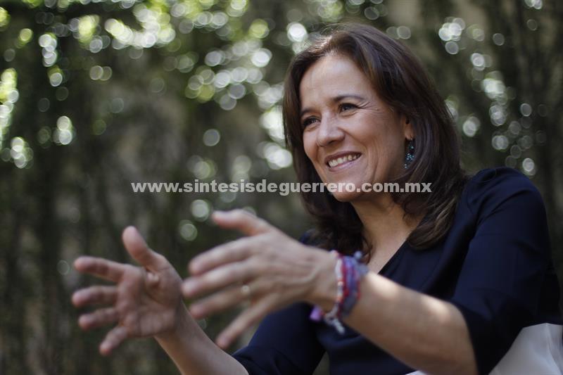 Podría volver al PAN pero no cruzaría para acera del PRI, dice Margarita Zavala