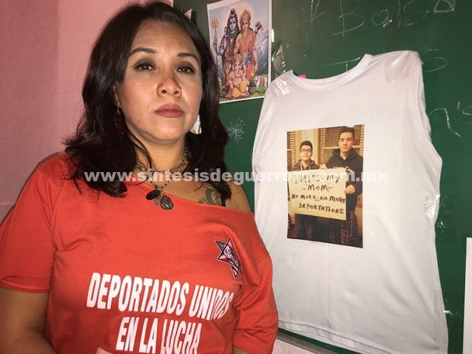 (Video) Desalojan a deportada mencionada por Ricardo Anaya en el debate