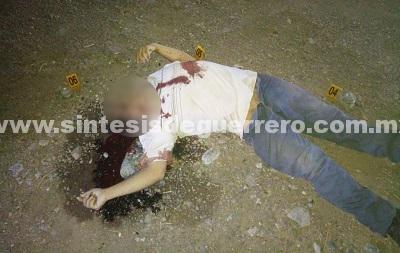 Ejecutan a un hombre en la carretera Chilpancingo-Iguala