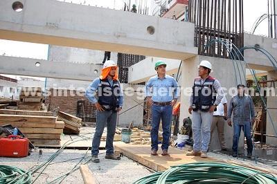Vía Rápida y nuevo Ayuntamiento se concluirán en tiempo y forma: Evodio