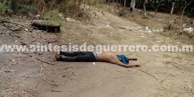 Asesinan a un hombre en Paso Texca y otro en Atoyac