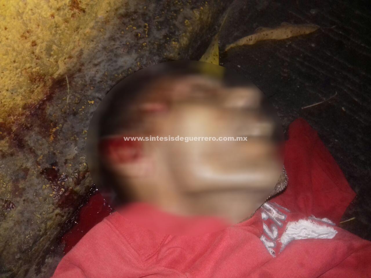 Asesinan a dos hombres en Acapulco