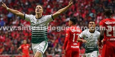 Santos apaga el infierno en Toluca y se proclaman campeones