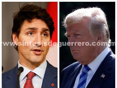 Trudeau y Trump analizan conclusión pronta en renegociación de TLCAN