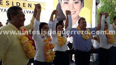 Descalificaciones, promesas y adhesiones; arrancan las campañas en Costa Grande
