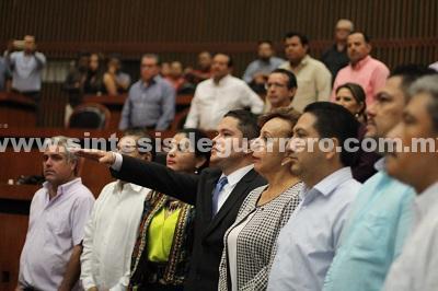 Congreso del Estado designa a Jorge Zuriel de los Santos Barrila como Fiscal General del Estado