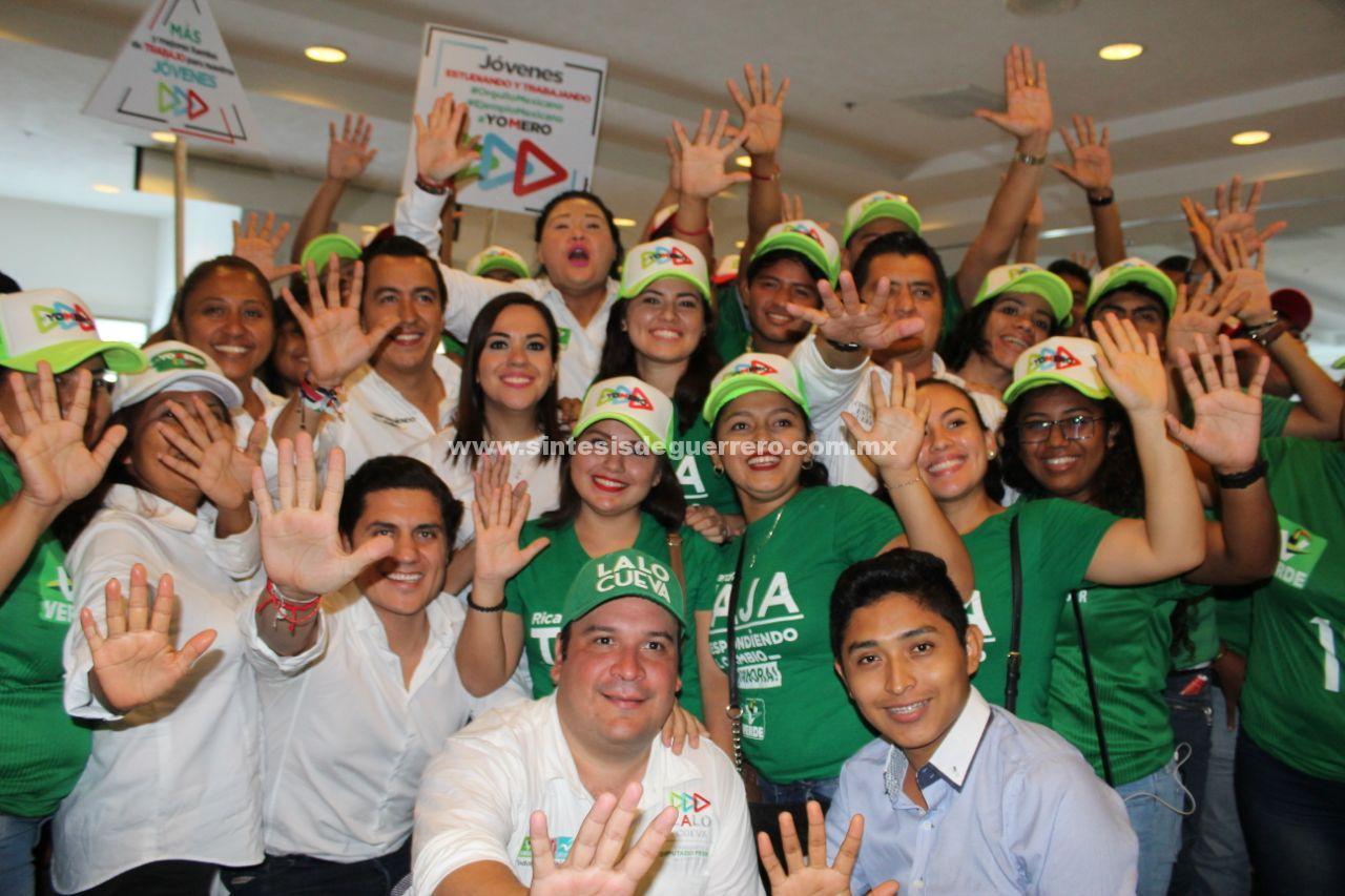 Meade dará certeza a la juventud mexicana: Gaby Bernal