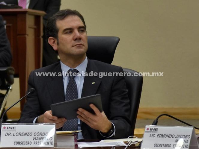 Córdova prevé que dos presidenciales pidan nulidad de elecciones