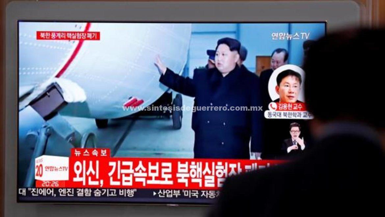 Corea del Norte dinamita su silo de pruebas atómicas ante la Prensa extranjera