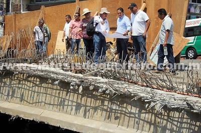 Supervisa Evodio obras municipales de alto impacto para Acapulco