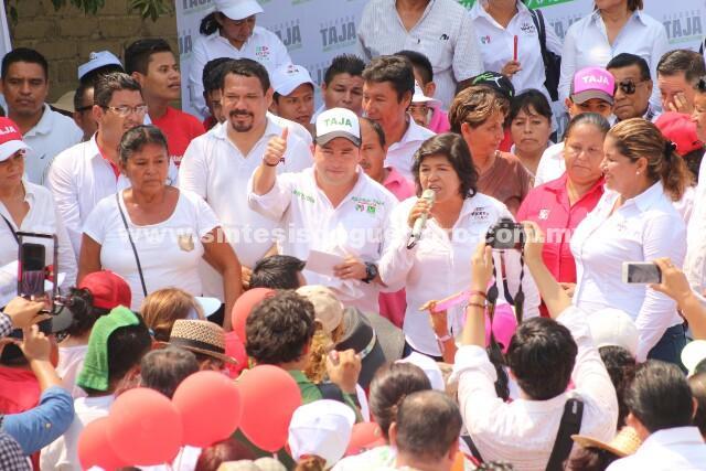 Taja pide serenidad a quienes van a perder y a sumarse para rescatar Acapulco