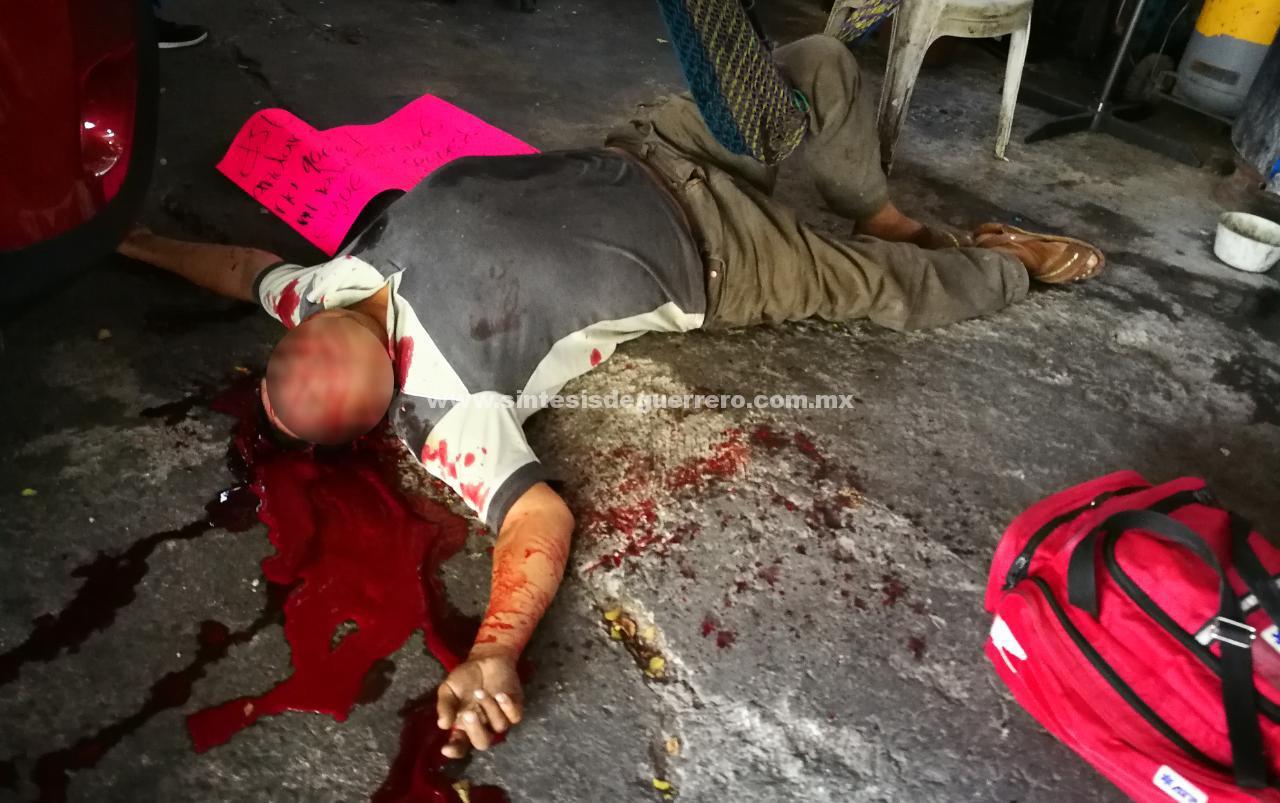 Ataque armado contra una taller mecánico en Chilpancingo; dos muertos