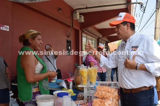 Violencia e impunidad, responsables de la crisis económica en la ciudad: Berdeja