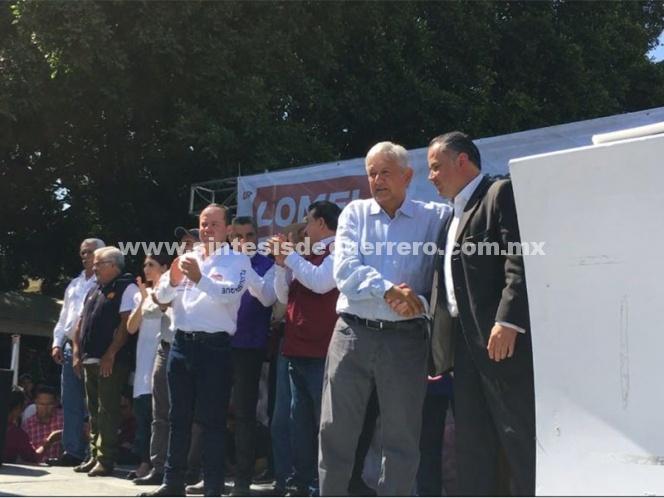 Santiago Nieto se suma a campaña de AMLO