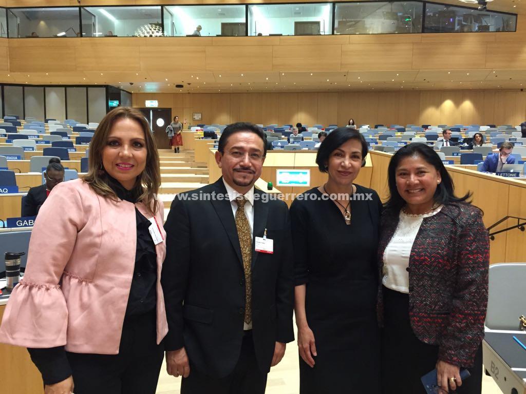 Cautiva arte guerrerense a Ginebra, en el marco de la Organización Mundial de la Propiedad Intelectual que reúne a casi cien países