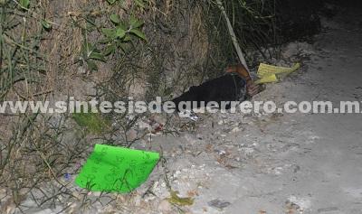 Encuentran a un hombre maniatado y ejecutado en Chilpancingo