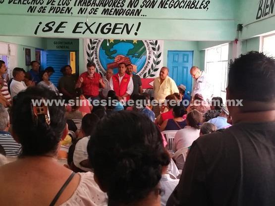 Reunión con sindicato independiente de H. Ayuntamiento de Acapulco